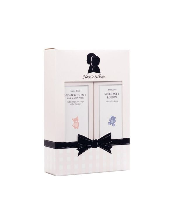 Noodle and Boo Newborn Gift Set 8 oz.